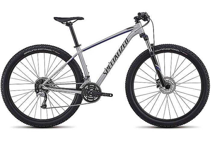 Bicicleta montaña mujer Rockhopper Comp gris 2018