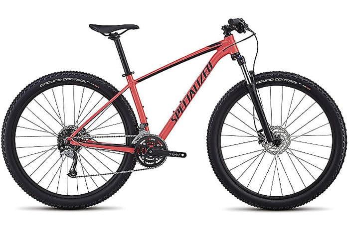 Bicicleta montaña mujer Rockhopper Comp roja 2018