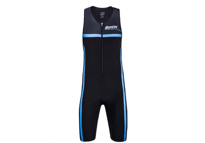 Mono triatlon Santini Argo Trisuit 2018 azul