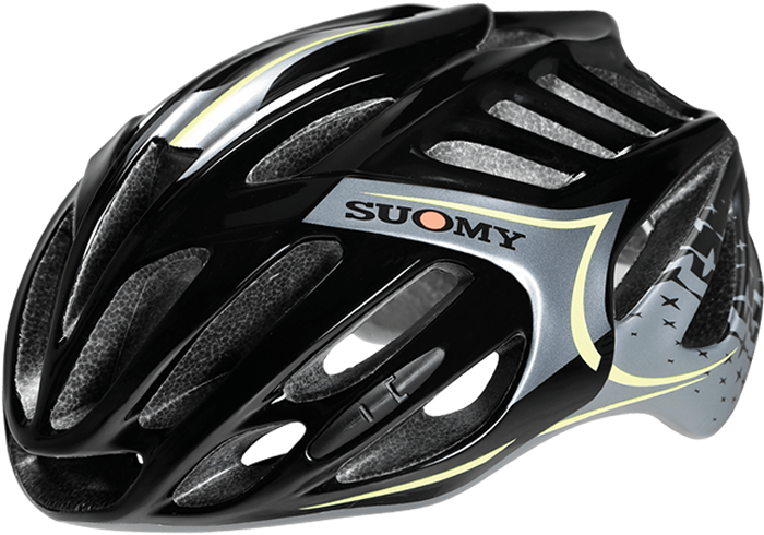 Casco Suomy TMLS All-In 2018 Negro-Amarillo
