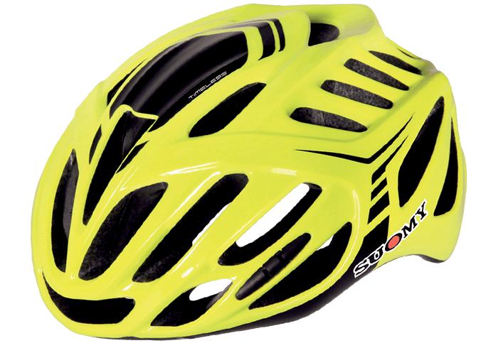 Casco ciclismo Suomy amarillo
