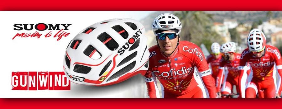 Suomy proveedro oficial del equipo ciclista COFIDIS