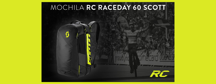 Mochila ciclismo Scott RC Raceday 60