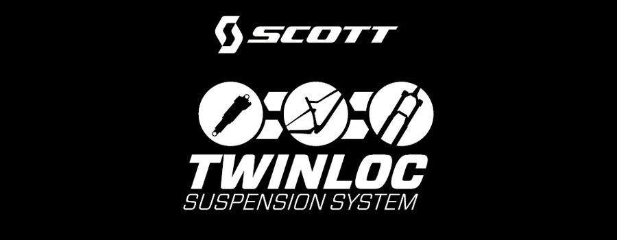 Scott Twinloc supension system
