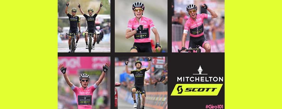 El Giro más emocionante de la historia de SCOTT