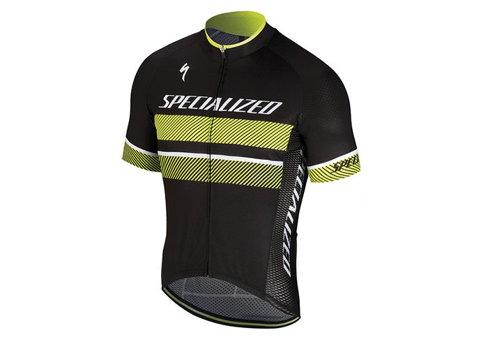 Maillot ciclismo Specialized RBX COMP 2018 negro-amarillo
