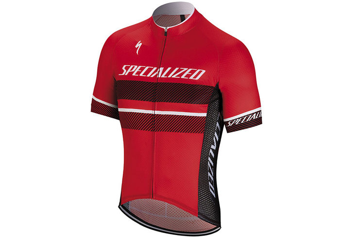 Maillot ciclismo Specialized RBX COMP 2018 rojo