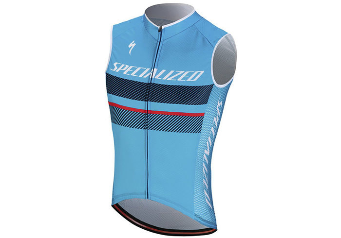 Maillot sin mangas Specialized RBX COMP LOGO SLVS 2018 celeste