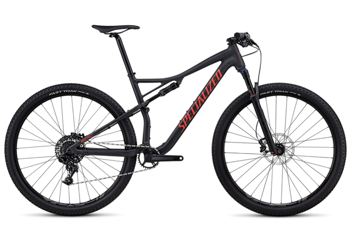 Specialized Epic Comp 2018 negro-rojo
