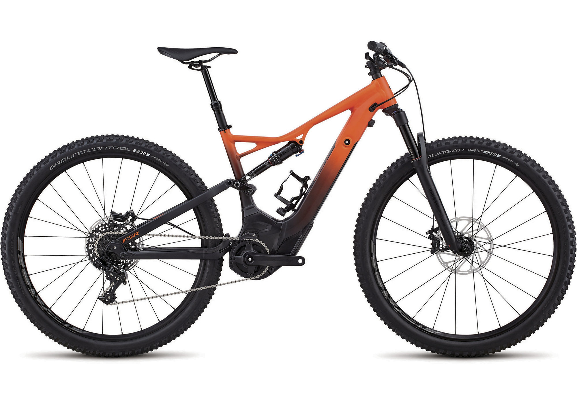 TURBO LEVO FSR SHORT TRAVEL COMP 29 naranja