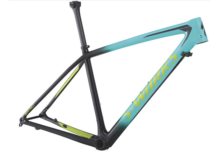 Cuadro S-Works Epic Hardtail fluor