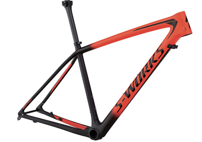 Cuadro S-Works Epic Hardtail rojo