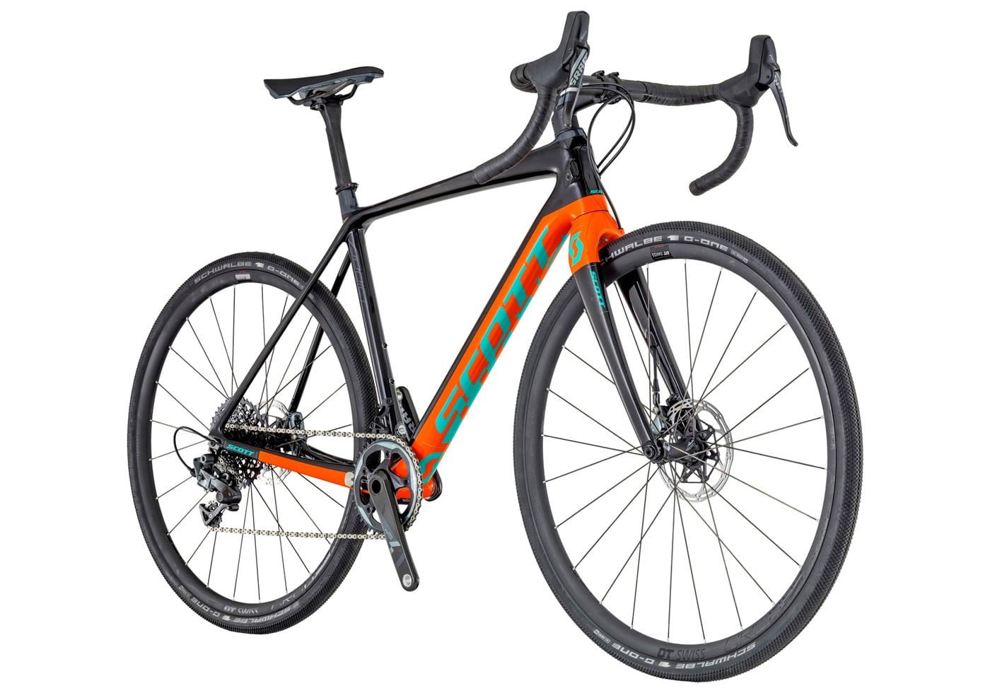 Bicicleta Scott Addict Gravel 10 Disc 2018