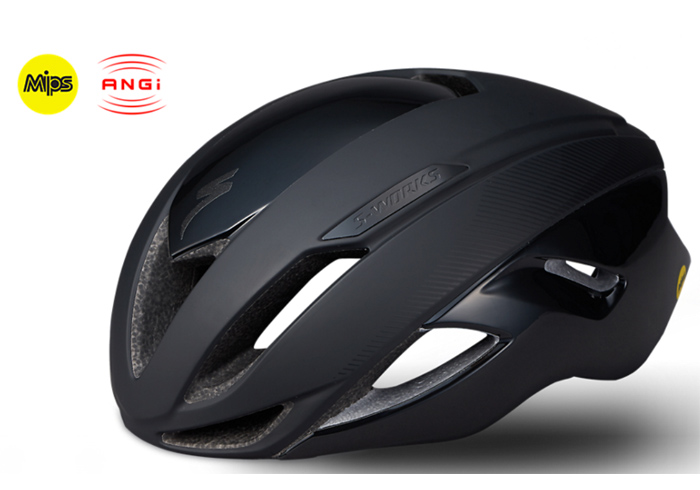 Casco Specialized S-Works Evade with ANGi 2019