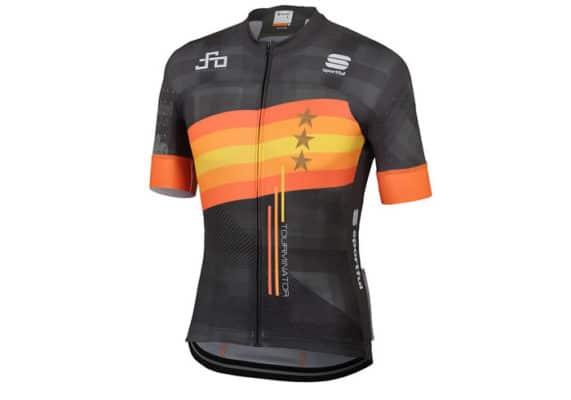 Maillot Sagan Stars Team 2019 negro