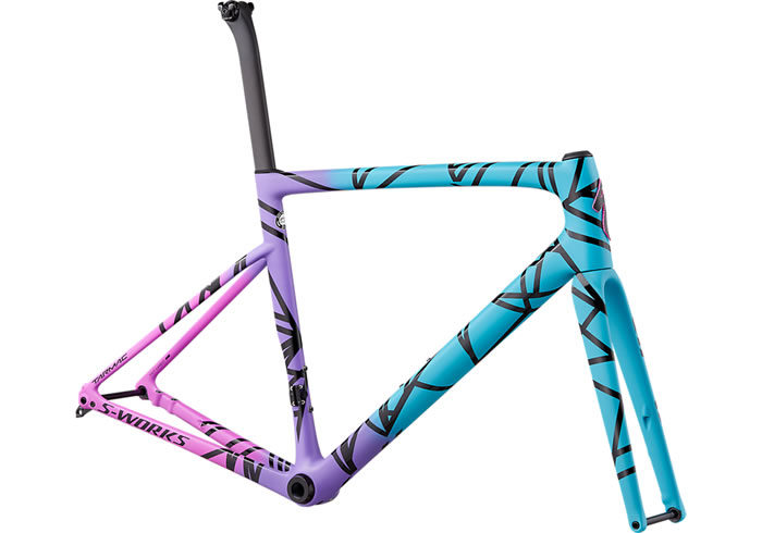 Cuadro Specialized S-Works Tarmac Disc Frameset - Mixtape LTD
