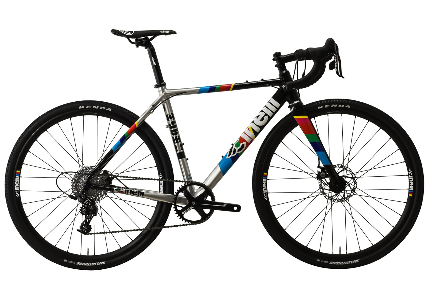 Bicicleta gravel cinelli zydeco sram apex