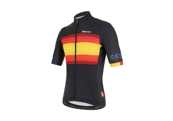 Maillot Santini La Vuelta KM-Cero 2019