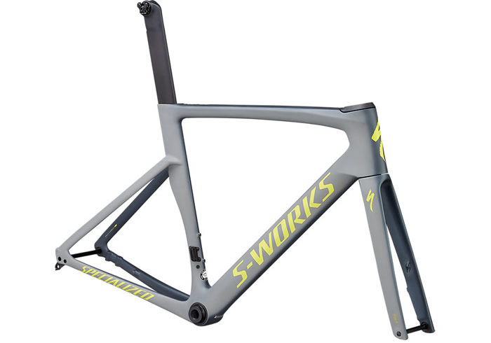Cuadro Specialized S-Works Venge Gris 2019