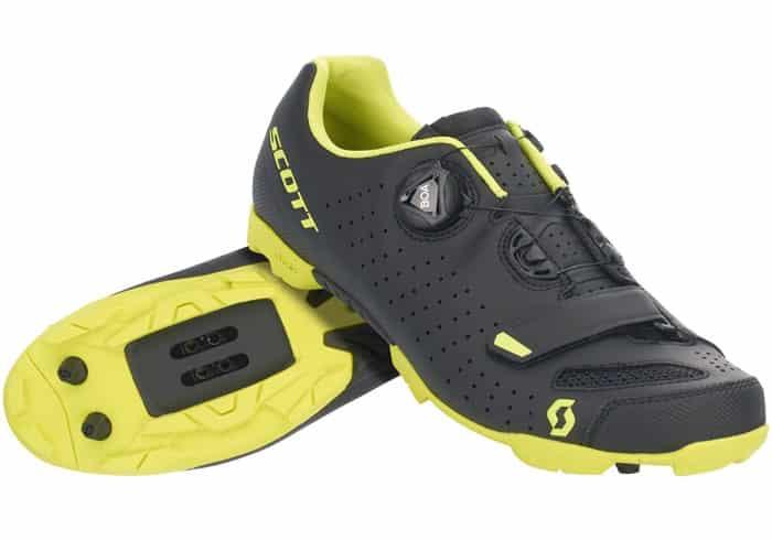 Scott MTB Comp Boa 2020 Color Gris y Rojo Zapatillas para Bicicleta